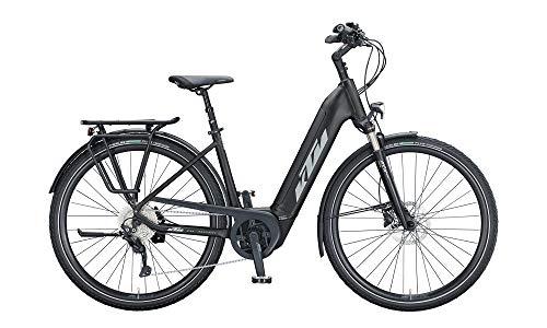 KTM Cento 10 Unisex Trekking Wave E-Bike Pedelec 2021, Farbe:schwarz, Rahmenhöhe:46 cm, Akku:500 Wh