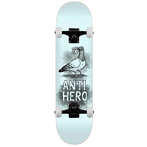 Anti Hero Skateboard Budgie Blassblau, 20,3 cm