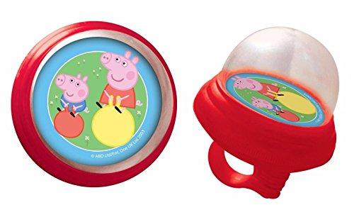 Clacson a pressione per bambini bambino bambina compatibile con Peppa Pepa Pig a manubrio di bicicletta 70201 6221
