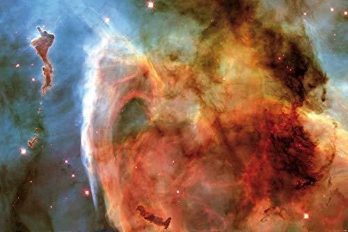 1art1 Der Weltraum - Schlüssellochnebel Im Sternbild Carina Poster Kunstdruck 120 x 80 cm