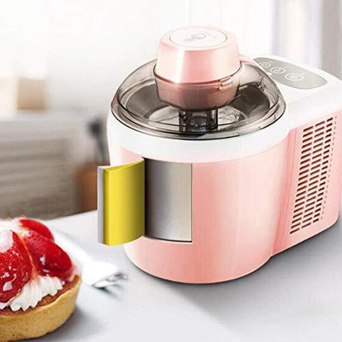 Eismaschine, EismaschineIce Maker Machine, hausgemachtes Eis in professioneller Qualität - Ideal für Gelato, Sorbet und gefrorenen Joghurt-Pink