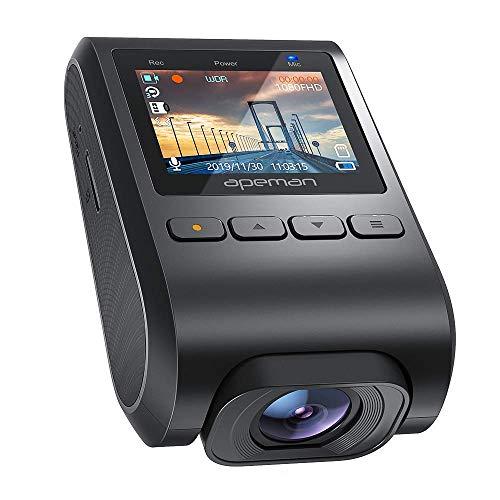 APEMAN Mini Dashcam mit verstecktem Design 1080P Full HD DVR Autokamera, 170° Weitwinke, Loop-Aufnahme, Auto-Videorecorder mit G-Sensor, Bewegungserkennung, Parküberwachung