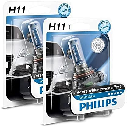 Ampoules H11 Philips White Vision Ultra