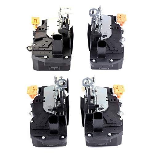 Power Door Lock Actuator Door Lock Actuator W/Motor Front Left+Front Right+Rear Left+Rear Right Replacement For 2006-2011 Chevrolet Impala 931-300
