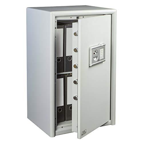 BURG-WÄCHTER Sicherheitsschrank mit elektronischem Zahlenschloss und Fingerscan, Sicherheitsstufe S 2, Combi-Line CL 60 E FS