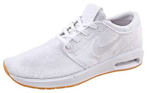 Nike Herren SB Air Max Stefan Janoski 2 Sneaker Weiß 46