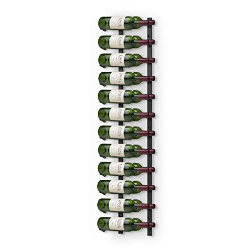 Final Touch - Botellero de pared (24 botellas, metal)