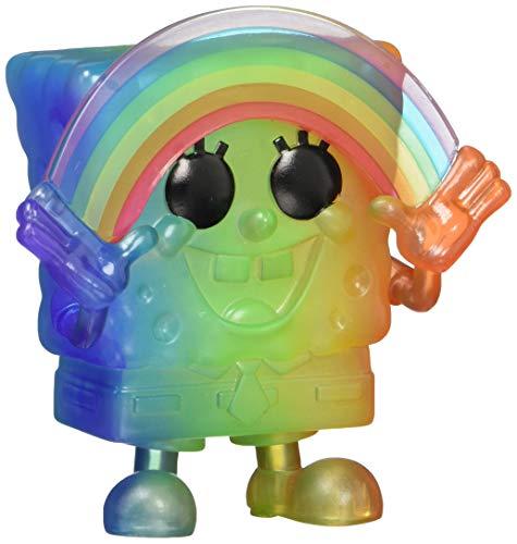 Funko- Pop Animation: Pride 2020-Spongebob Squarepants Spongebob(RNBW) Figura Coleccionable, Multicolor (49842)