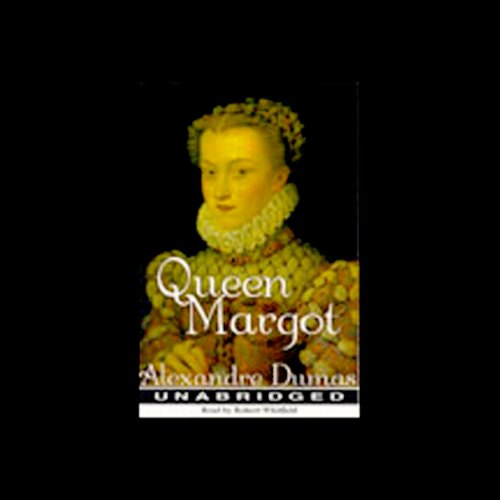 Queen Margot audiobook cover art