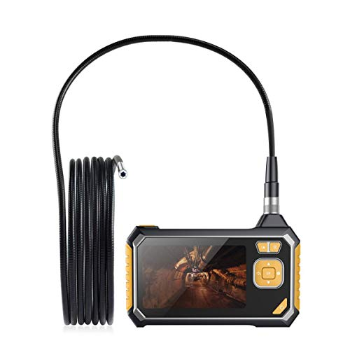 Digital Endoscope with Monitor, AntScope Handhold Industrial Borescope Camera with 4.3-inch Color LCD Screen, 8mm Waterproof Cable, 6 LED Lights, 2600mAh Lithium-Ion Battery - 33FT