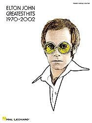 Elton john - greatest hits 1970-2002 piano, voix, guitare