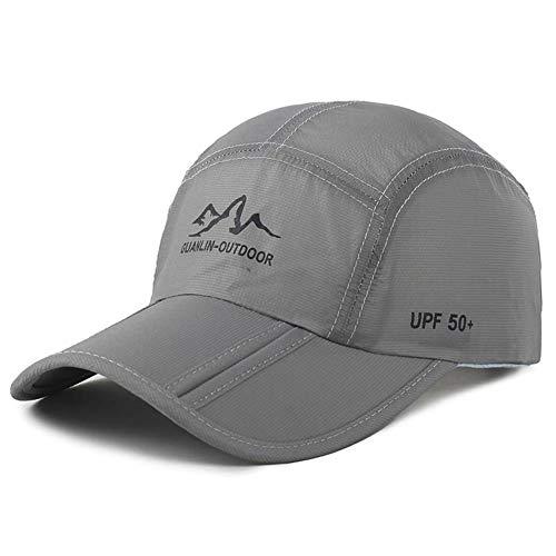 Estwell Gorra de Béisbol para Hombre Mujer Sombrero de Sol Sombreros Verano Ajustable Plegable Gorra de Golf 🔥