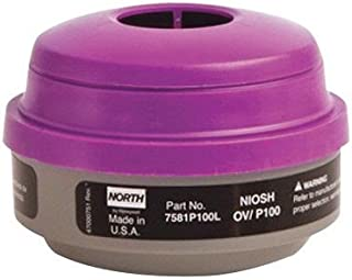 North® by Honeywell Organic Vapors/Particulate P100 APR Cartridge For 5500, 7700, 5400 And 7600 Series Respirators