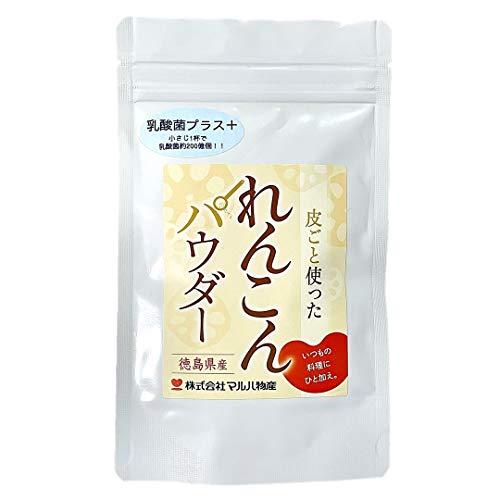 徳島産れんこんパウダー乳酸菌プラス 100g