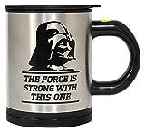 Funko UGTSW35747 Star Wars Self Stirring Mug Feel the Force, Silver
