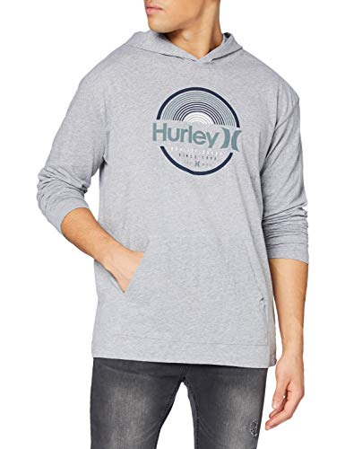 Hurley M Modern Surf Poncho Arches LS, Dk Grey Heather, XL