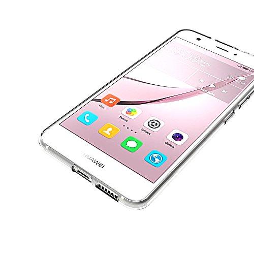 AICEK Huawei Nova Hülle, Transparent Silikon Schutzhülle für Huawei Nova 5.0 Zoll Case Ultra Crystal Clear Durchsichtige TPU Bumper Huawei Nova Handyhülle - 6