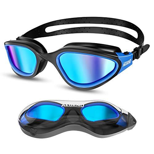 Aegend Polarized Swim Goggles, Swimming Goggles Adult Men Women Youth