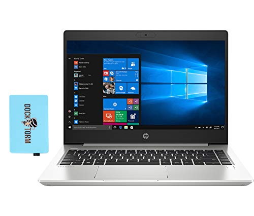 HP ProBook 440 G7 Home and Business Laptop (Intel i5-10210U 4-Core, 8GB RAM, 256GB PCIe SSD + 500GB HDD, Intel UHD 620, 14.0' HD (1366x768), WiFi, Bluetooth, Webcam, 2xUSB 3.1, Win 10 Pro) with Hub