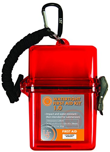 Ust Brands Ultimate Survival Technologies Watertight First Aid Kit 1.0 Red 22-Piece Light