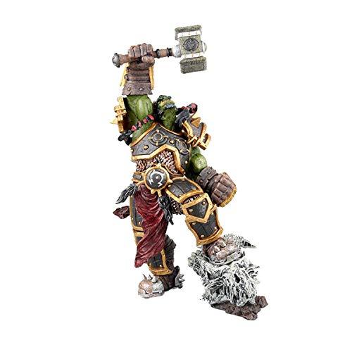 PLNXDM World of Warcraft Anime Figura Warchief Thrall Falls Anime Modelo Figuras de PVC 23cm Modelo Coleccionable Carácter Estatua Estatua Toys 23cm