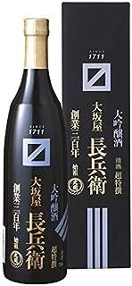 超特選 大関 大吟醸 「大坂屋長兵衛」 720ML × 6本