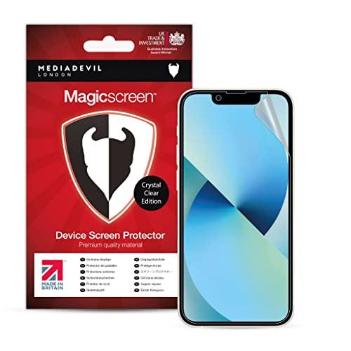 MediaDevil Pellicola protettiva per iPhone 13 e iPhone 13 Pro (6,1 pollici), ultra resistente, edizione senza vetro (confezione da 2)