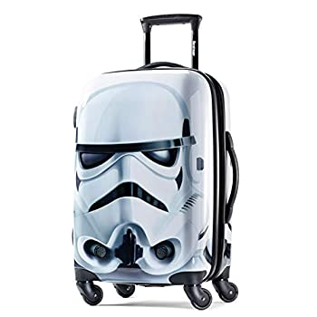 American Tourister Star Wars Hardside Luggage with Spinner Wheels Storm Trooper Carry-On 21-Inch