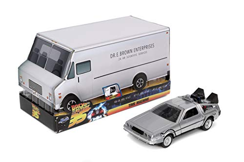 Jada Toys Back to The Future Time Machine Anniversary Edition 1:32 Die-cast Car (Amazon Exclusive)
