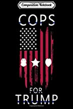 Composition Notebook: Cops For Trump Minneapolis Police For Men Women  Journal/Notebook Blank Lined Ruled 6x9 100 Pages