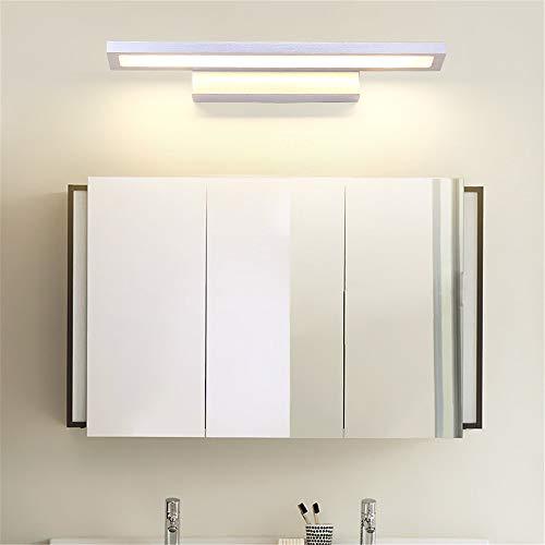 MJSM Light Wandlamp, moderne, eenvoudige, dunne, van aluminium, woonkamer, slaapkamer, trappen, badkamerspiegel, voorste lamp, LED wandlamp, warm licht, S