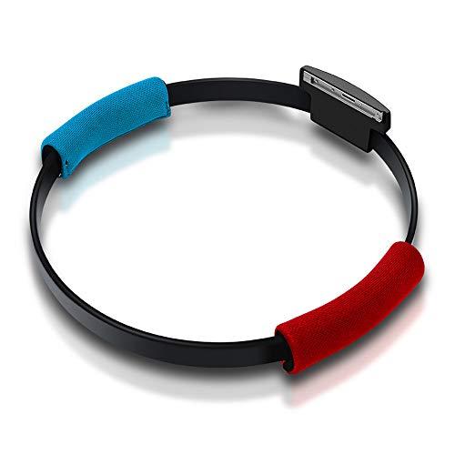 GoolRC Compatible con Nintendo Switch Joy-con Ring Fit Adventure Game Correa de Pierna elástica Ajustable Sport Band Ring-con Grips Leg (El Producto no Contiene Juegos)