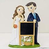 Zoom IMG-2 mopec statuina per torta sposi