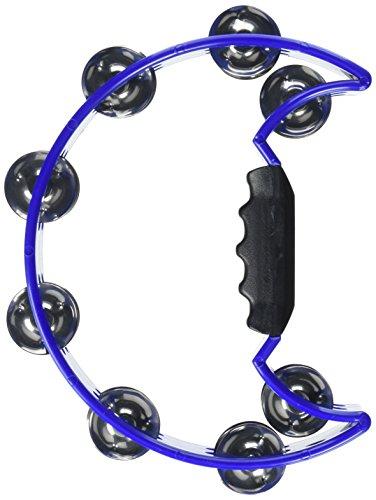 Stagg Schellenkranz Halbmond / Tambourin 16 Schellen, blau
