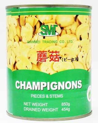 信明商事 マッシュルーム缶詰 ピーセス 2号缶 850g