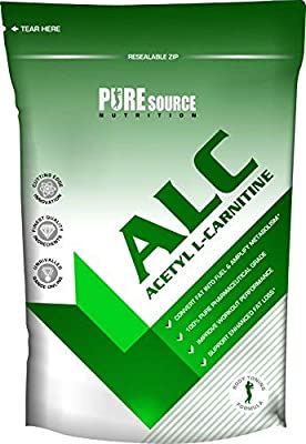 Pure Source Nutrition Acetyl L-Carnitine 360 Capsules