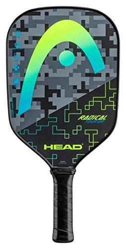 HEAD Graphite Pickleball Paddle - Radical Tour Lightweight Paddle w/Honeycomb Polymer Core & Comfort...