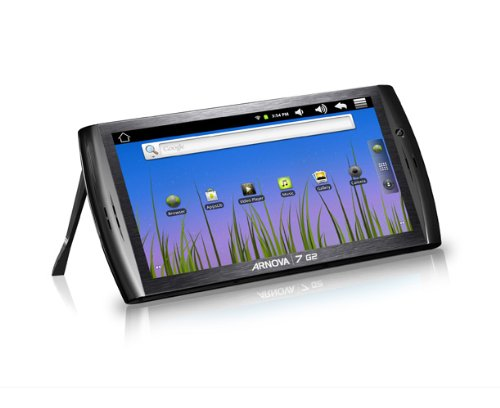 Arnova 7 G2 Tablet  8GB, 17,8cm (7 Zoll) kapazitives Multitouch, Android 2.3, 1GHz, WiFi, 3Gfähig, microSDHC Slot, Webcam