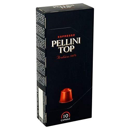 Pellini Top Arabica 100% Nespresso Compatible Coffee Capsules 10 per pack