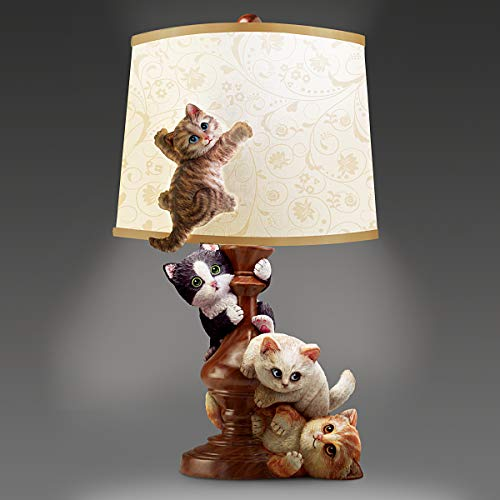 Cat-Tastrophe Fully Sculpted Table Lamp