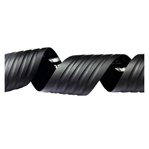 ooege OOE 90 cm Coche Trasero Parachoques Anti-colisión protección Caucho Anti-rasguño Tronco umbral (Color : Black)