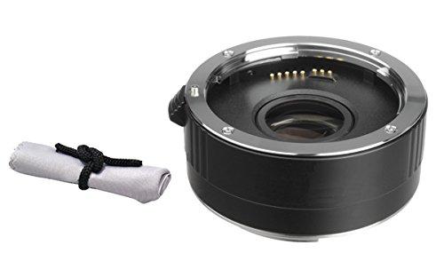 Nikon D3200 2x Teleconverter (4 Elements) + Nwv Direct Microfiber Cleaning Cloth.