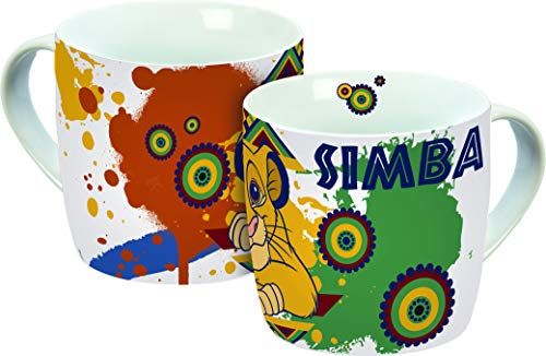 Disney König der Löwen Porcelana, Taza de café, 250 milliliters