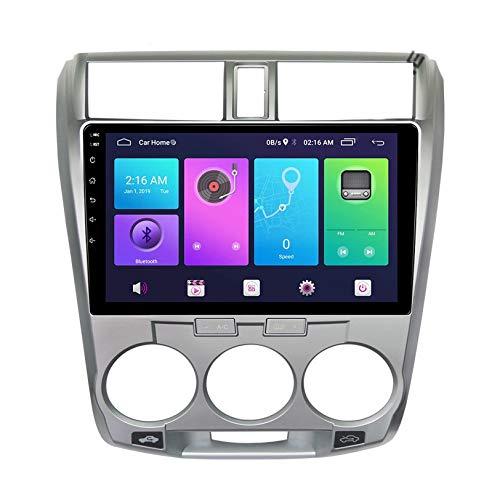 WHL.HH para H O N D A Ciudad 2008-2013 Radio Estéreo Multimedia Jugador Video Receptor 4G WiFi Bluetooth Androide 10 Pulgadas Pantalla táctil Cabeza Unidad GPS Navegación