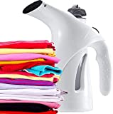Maruti Villa Facial Handheld Garment Steamer for Clothes Portable Fabric Steam Brush Face and Nose, Cold and Cough (Multicolour)