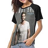 Thomas Rhett Tangled Up Womans Creative Print T-Shirt M Black