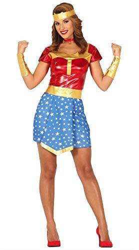FIESTAS GUIRCA Disfraz Mujer amazona superheroína Talla s