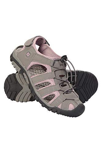 Mountain Warehouse Sandalias Trek para Mujer - Sandalias con Forro de Neopreno, Zapatas de Playa con Suela Resistente, Zapatos de Verano con Entresuela de EVA Rosa Talla Zapatos Mujer 38 EU