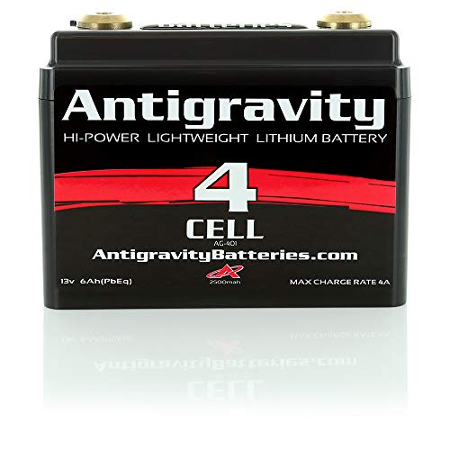 Antigravity Batteries AG-401 Lithium-Ion Motorcycle Battery, Small Case