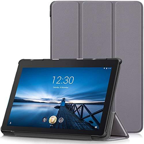 TTVie Hoes voor Lenovo Tab E10, Ultraslanke Lichtgewicht Slimme Standaard Beschermhoes voor Lenovo Tab E10 10.1